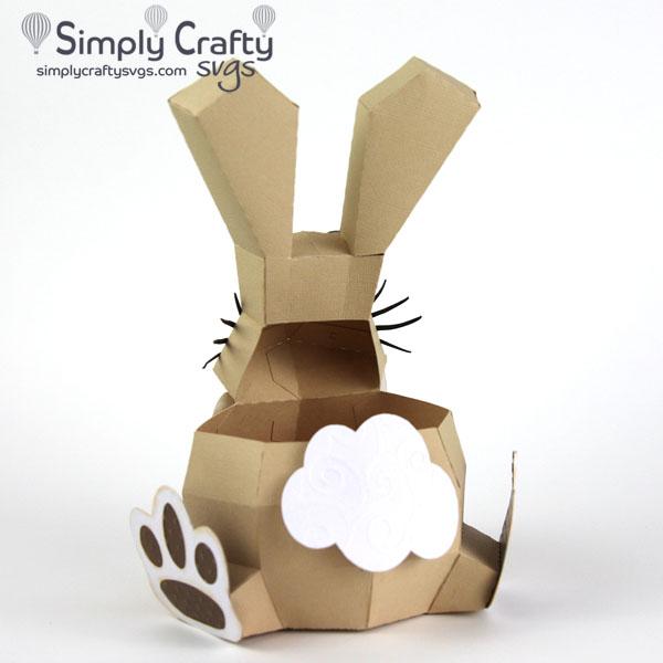 Bunny Box SVG file