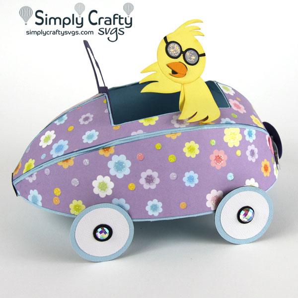 Chick Magnet Car SVG File