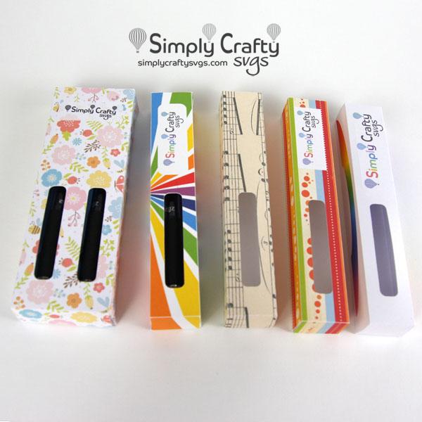 Glitter Pen Boxes