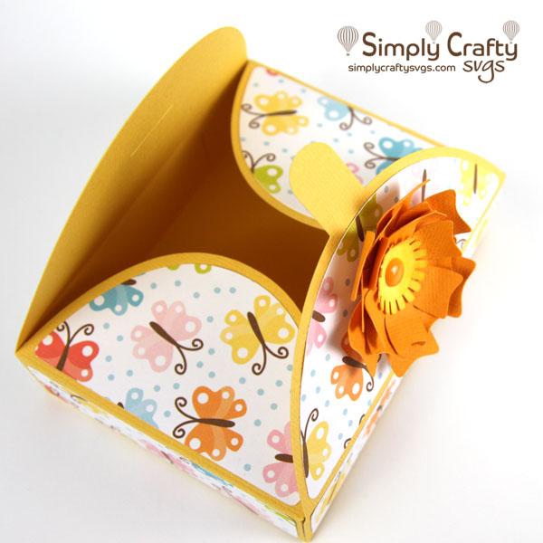 Envelope Style Gift Box SVG File