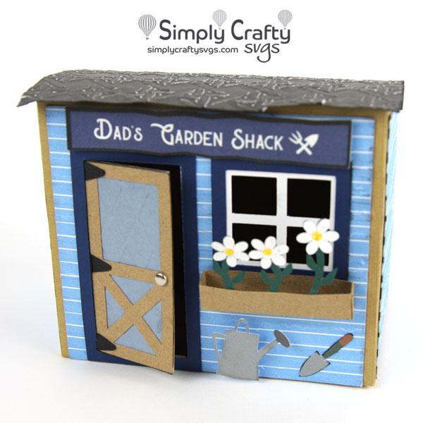 Dad Garden Shack SVG File