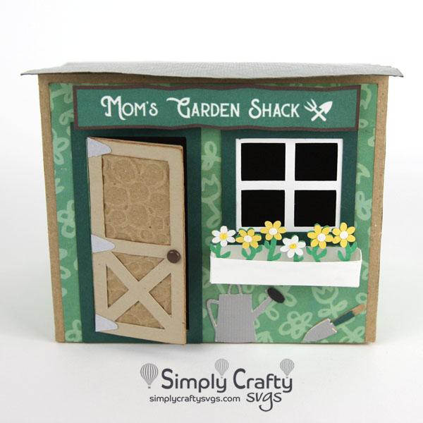 Mom Garden Shack SVG File