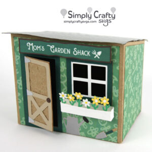 Mom Garden Shack SVG File