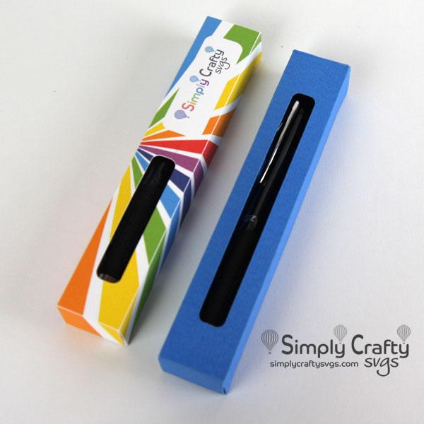 Glitter Pen Boxes Single