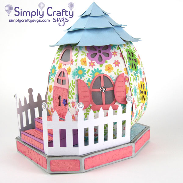 Spring Egg-Centric House