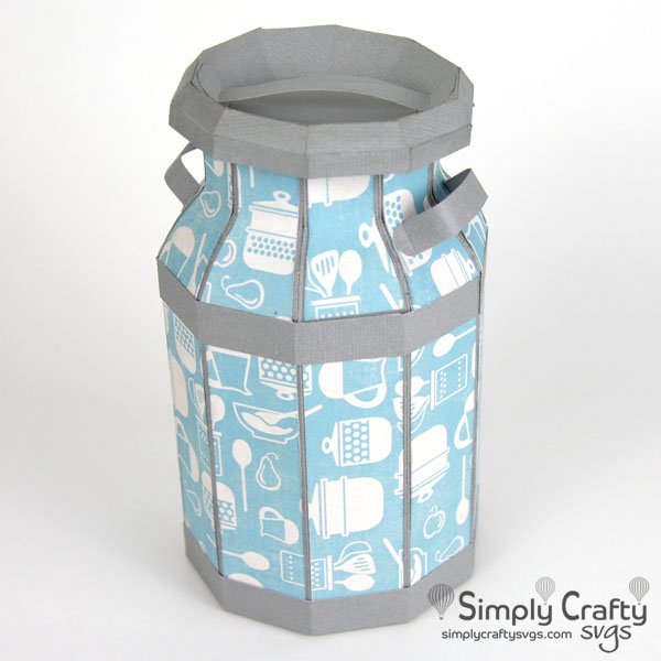 Milk Can SVG File