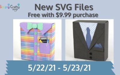 Free Nerd Shirt Box SVG & Suit Box SVG Through 5/23/21 (Expired Offer)