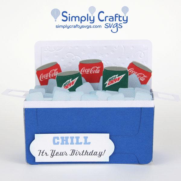 Ice Cooler Birthday Card