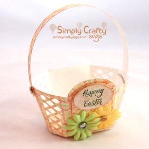 Easter Basket SVG File