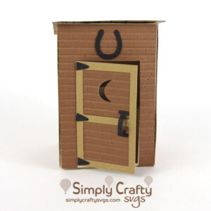 3D Outhouse SVG File