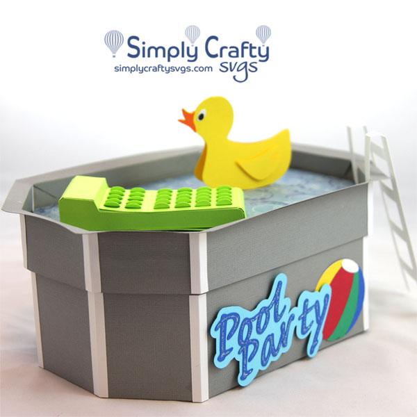Pool Box SVG File