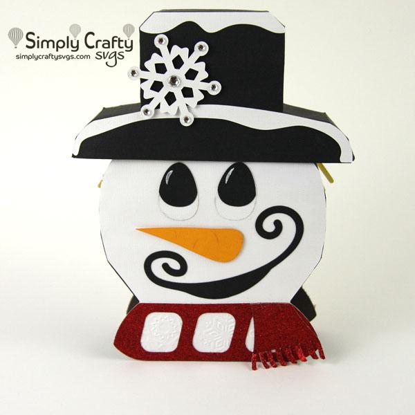 Reversible Snowman Scarecrow SVG File