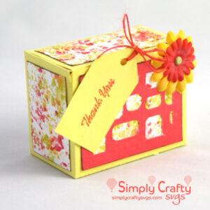 Small Gift Box SVG File