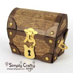 Treasure Chest Box SVG File