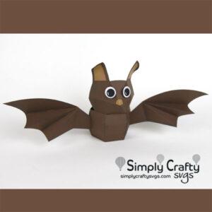 Bat Treat Box SVG File
