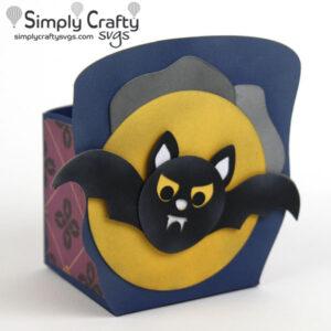 Gone Batty Box SVG File