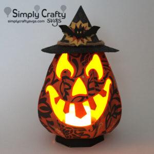Witchy Pumpkin SVG File